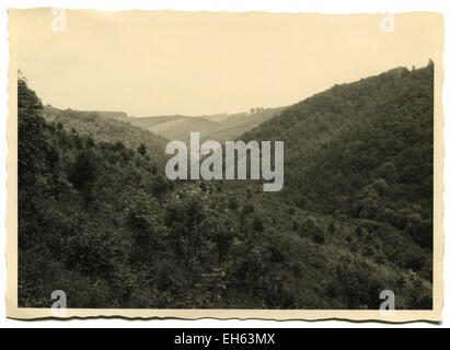 Germany. 7th Mar, 2015. CIRCA 1960s: Forested mountains © Igor Golovniov/ZUMA Wire/ZUMAPRESS.com/Alamy Live News - Stock Photo