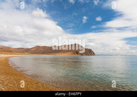 Russia, Primorye. Bay near the cape of the Lion early in the morning - Stock Photo