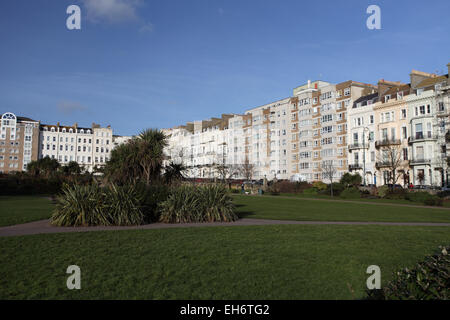 Warrior Square Gardens, St Leonards-On-sea, Hastings, East Sussex - Stock Photo