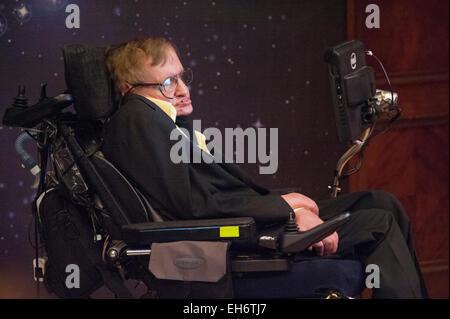 Professor Stephen Hawking - Stock Photo