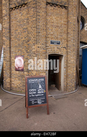 Longplayer is a sound installation designed to play without repetition for 1,000 years, Trinity Buoy Wharf, London, - Stock Photo