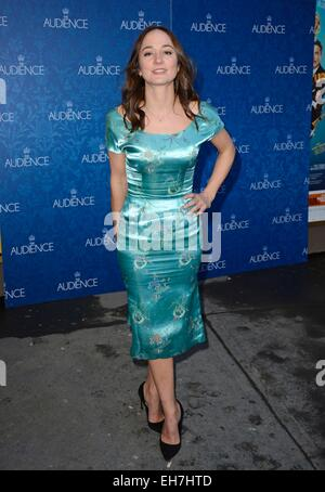 New York, NY, USA. 8th Mar, 2015. Stephanie Kurtzuba in attendance for THE AUDIENCE Opening Night on Broadway, Gerald - Stock Photo