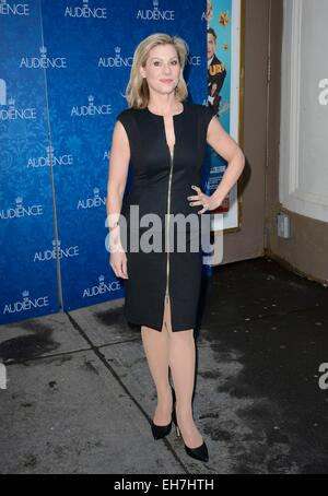 New York, NY, USA. 8th Mar, 2015. Lydia Leonard in attendance for THE AUDIENCE Opening Night on Broadway, Gerald - Stock Photo