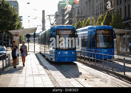 Public Transport Electric Tram Trams Bus Buses Lyon France