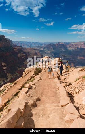 South Kaibab Trail In Grand Canyon National Park, Arizona, USA - Stock Photo