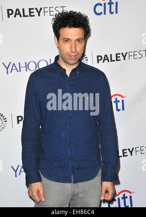 Los Angeles, CA, USA. 8th Mar, 2015. Alex Karpovsky at arrivals for 32nd Annual PALEYFEST Honors HBO's GIRLS, The - Stock Photo