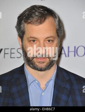 Los Angeles, CA, USA. 8th Mar, 2015. Judd Apatow at arrivals for 32nd Annual PALEYFEST Honors HBO's GIRLS, The Dolby - Stock Photo