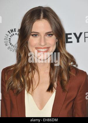 Los Angeles, CA, USA. 8th Mar, 2015. Allison Williams at arrivals for 32nd Annual PALEYFEST Honors HBO's GIRLS, - Stock Photo