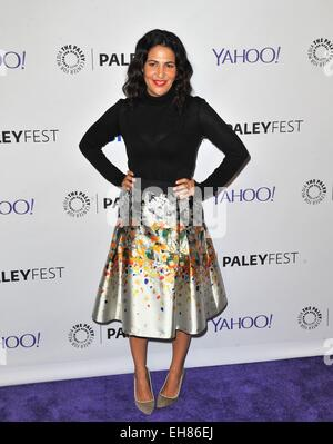 Los Angeles, CA, USA. 8th Mar, 2015. Jenni Kenner at arrivals for 32nd Annual PALEYFEST Honors HBO's GIRLS, The - Stock Photo