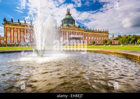 The New Palace 'Neues Palais' in Potsdam, Germany. - Stock Photo
