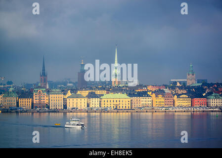 Stockholm, Sweden city skyline. - Stock Photo