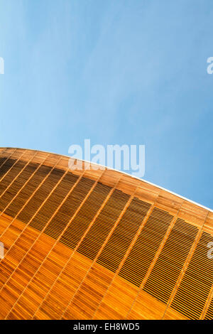 Lee Valley Velopark Olympic park velodrome London - Stock Photo