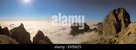 Landscape view in Dolomiti di Brenta, Italy - Stock Photo