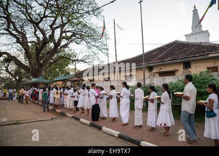 Ruwanwelisaya Dagoba, UNESCO World Heritage Site, Anuradhapura, Sri Lanka, Asia - Stock Photo