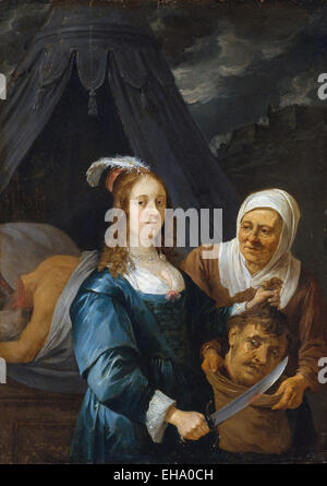 David Teniers the Younger  Judith with the Head of Holofernes - Stock Photo