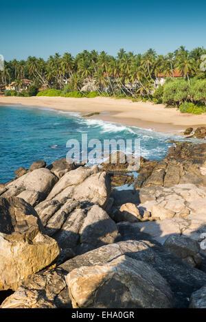 Goyambokka beach, Tangalle, Sri Lanka, Asia - Stock Photo