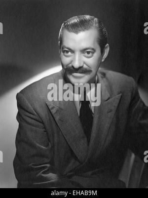 Jerry Colonna, Portrait, circa 1940 - Stock Photo