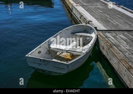 boat at dock - Stock Photo