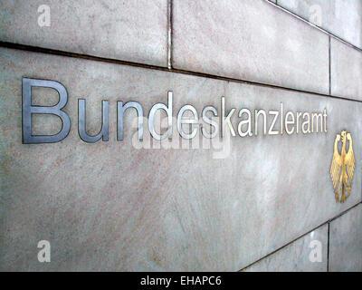 Bundeskanzleramt / federal chancellery - Stock Photo