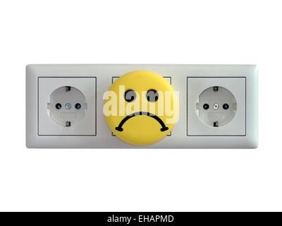Steckdosen / electric sockets - Stock Photo