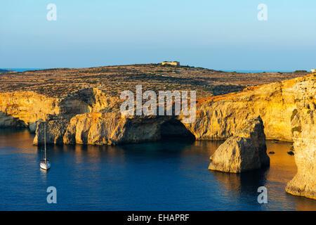 Mediterranean Europe, Malta, Comino island, - Stock Photo