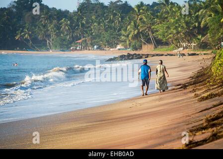 Tangalle Beach, Sri Lanka, Asia - Stock Photo