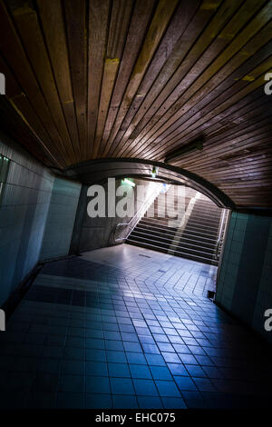Entrance to Underpass - Stock Photo