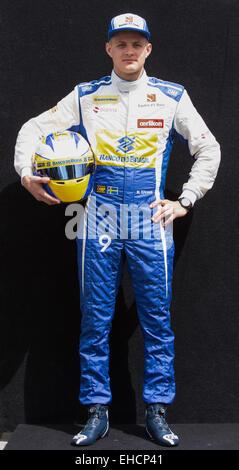 Melbourne, Australia. 12th March, 2015. Marcus Ericsson (SWE) Sauber - Formula1 World Championship 2015 - Round - Stock Photo