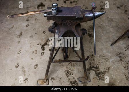 Farriers Anvil And Hammer Stock Photo Royalty Free Image