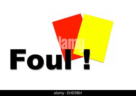 Foul - Stock Photo
