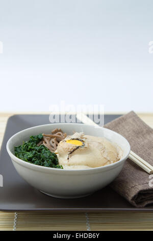 Mondnudeln - Udon Noodles - Stock Photo
