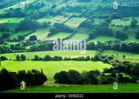 Glenariff Valley from Glenariff Forest Park, Northern Ireland