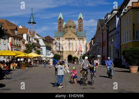 Speyerer Dom, Rheinland-Pfalz, Germany - Stock Photo
