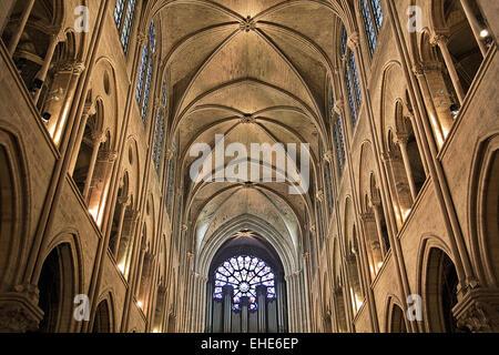 Notre-Dame de Paris, France - Stock Photo