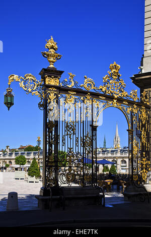 Place Stanislas, Nancy, Lothringen, France Stock Photo