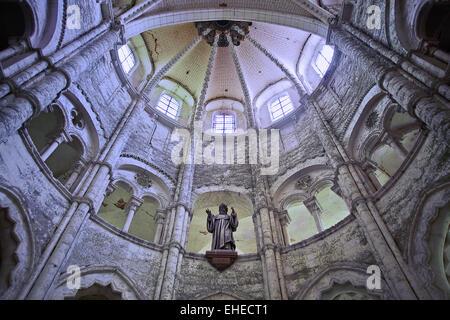 abbey Saint-Germer-de-Fly, Picardy, France - Stock Photo