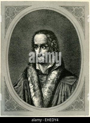 Reformer Philip Melanchthon of Germany. - Stock Photo