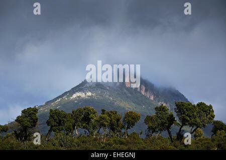 concial mountain, Urzulei, Sardinia, Italy - Stock Photo