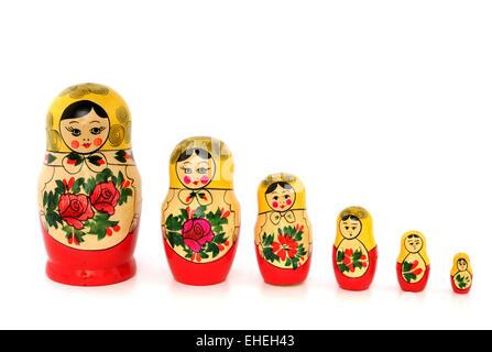 Matrjoschka / Matryoshka - Stock Photo