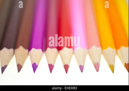 Buntstifte - Color pencils Stock Photo
