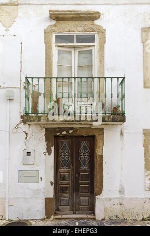 Facade in Albufeira - Stock Photo