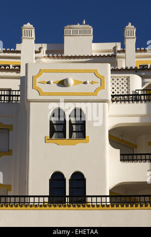 Block of flats in Carvoeiro - Stock Photo