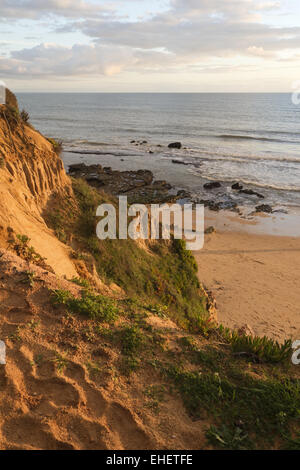 Beach of Olhos de Agua - Stock Photo
