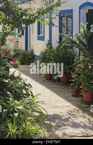 Alley in Ferragudo - Stock Photo