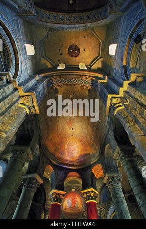 Notre-Dame-la-Grande, Poitiers, France - Stock Photo