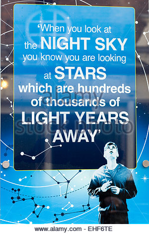 Theater Billboard Advertising 'Curious incident of the dog in the Night' - Stock Photo