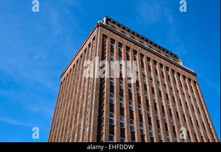 Old brick building in Berlin - Stock Photo