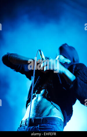 Tricky at Bestival on the Isle of Wight Friday 10th September 2010. - Stock Photo
