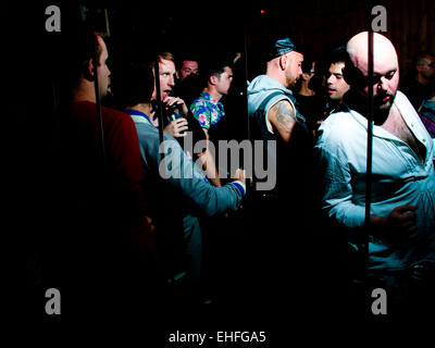 A 1234 Day of It after party at Dalston Superstore London on 10 July 2012. - Stock Photo