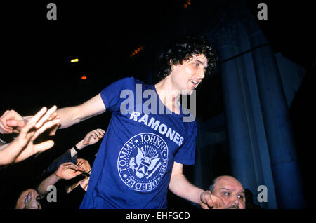 The Rapture at NME awards Brixton Academy London February 2004 - Stock Photo